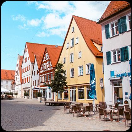 uitgelicht rond 1 - De hoogtepunten van de Duitse Romantische Strasse