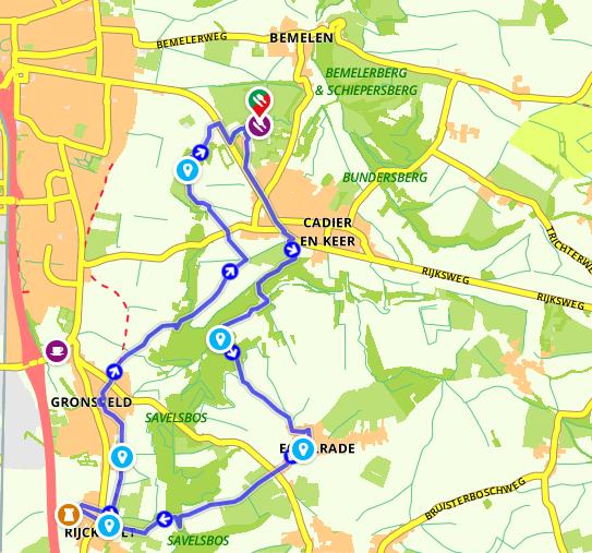 image - Wandelroute Zuid-Limburg: De heuvels bij Maastricht