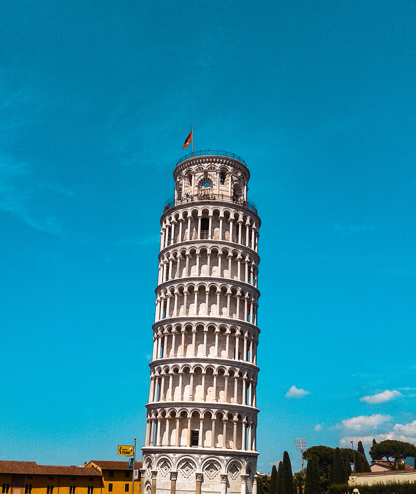 Pisa 1 klein - Landen met de meeste plekken op de Werelderfgoedlijst