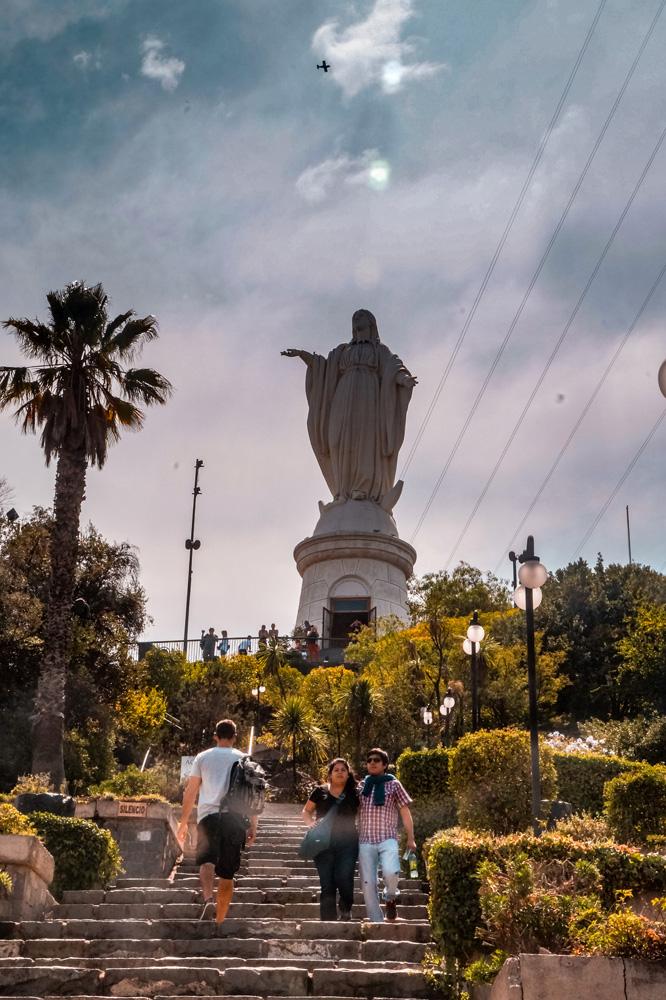 Santiago 1 klein - Weetje: de bekendste Christusbeelden van Zuid-Amerika