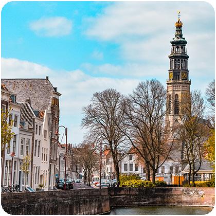 Mooiste gebouwen middelburg
