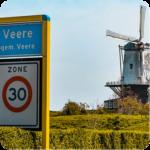 Wandelroute Veere Zeeland