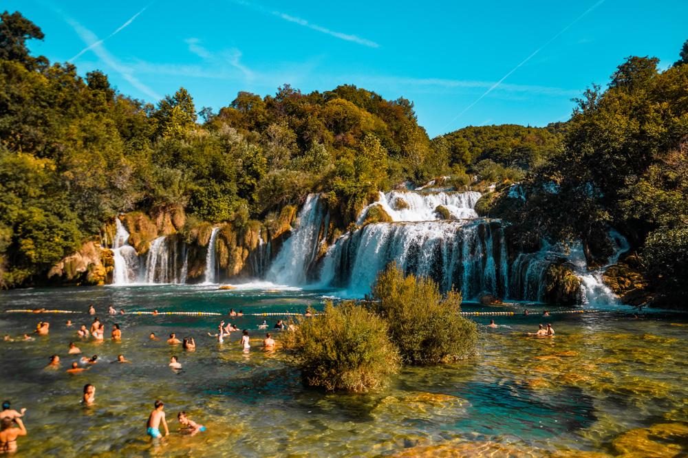 Kroatie Krka 2 - Kroatië: het land van leuke vissersdorpjes en prachtige watervallen
