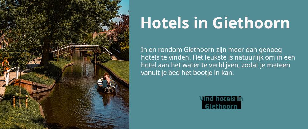 hotels png 2 - Varen in Giethoorn: dit wil je weten over het huren van een bootje