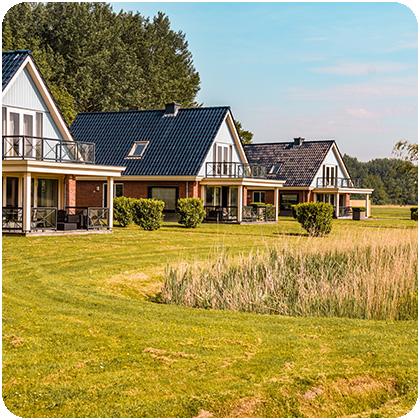 vakantiehuisje villapark lauwerssee friesland uitgelicht rond