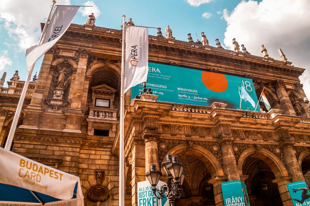 Opera Boedapest - 24 uur in Boedapest: bezienswaardigheden en tips
