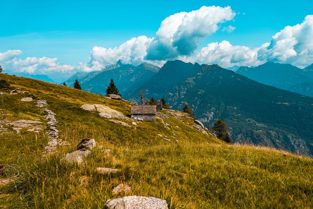 Hiken Ortameer Alpe Colmine 3 - Ortameer en Lago Maggiore:  de mooiste hiking routes