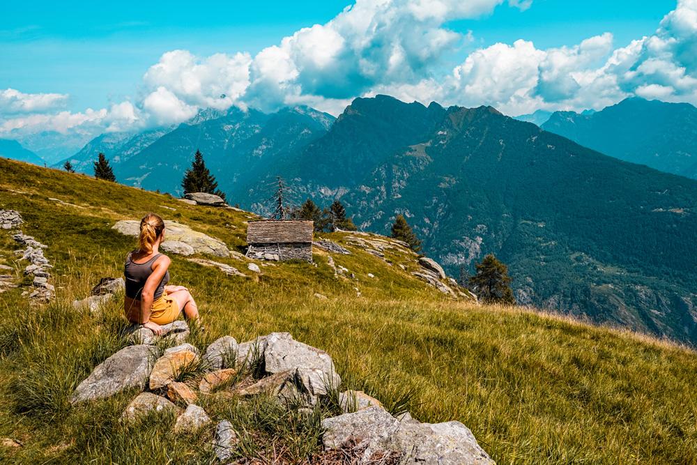 Hiken Ortameer Alpe Colmine 4 - Ortameer en Lago Maggiore:  de mooiste hiking routes