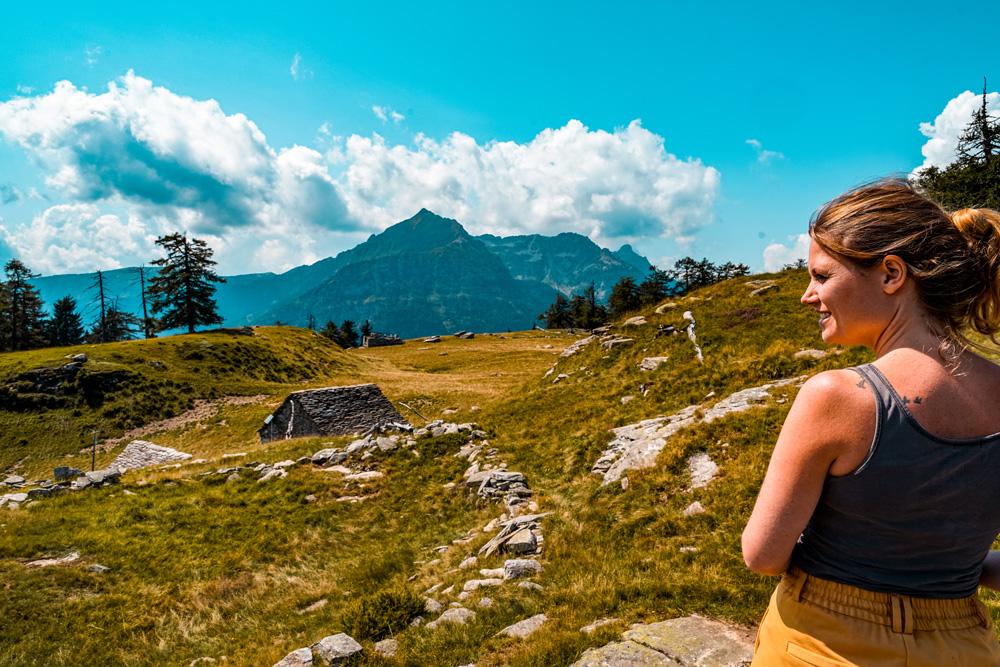 Hiken Ortameer Alpe Colmine 5 - Ortameer en Lago Maggiore:  de mooiste hiking routes