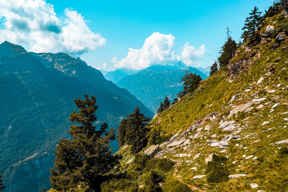 Hiken Ortameer Alpe Colmine 7 - Ortameer en Lago Maggiore:  de mooiste hiking routes