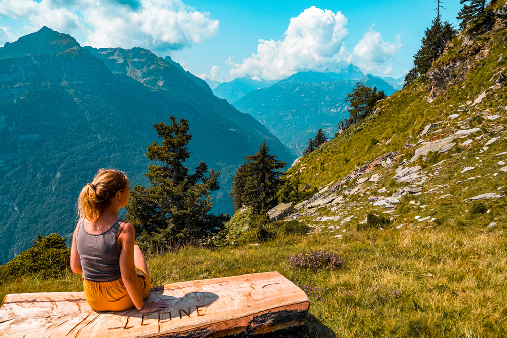 Hiken Ortameer Alpe Colmine 8 - Ortameer en Lago Maggiore:  de mooiste hiking routes