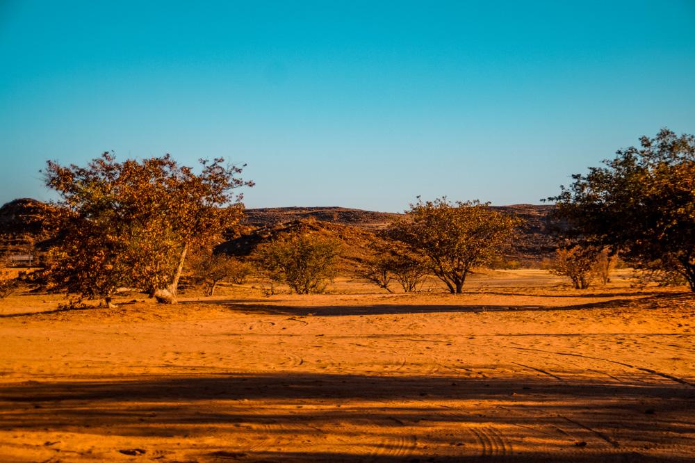 Namibie bezienswaardigheden Damaraland 3 - Reisroute: langs de bezienswaardigheden van Namibië