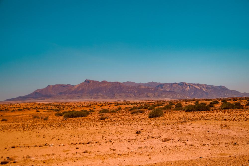 Namibie bezienswaardigheden Damaraland Brandberg - Reisroute: langs de bezienswaardigheden van Namibië