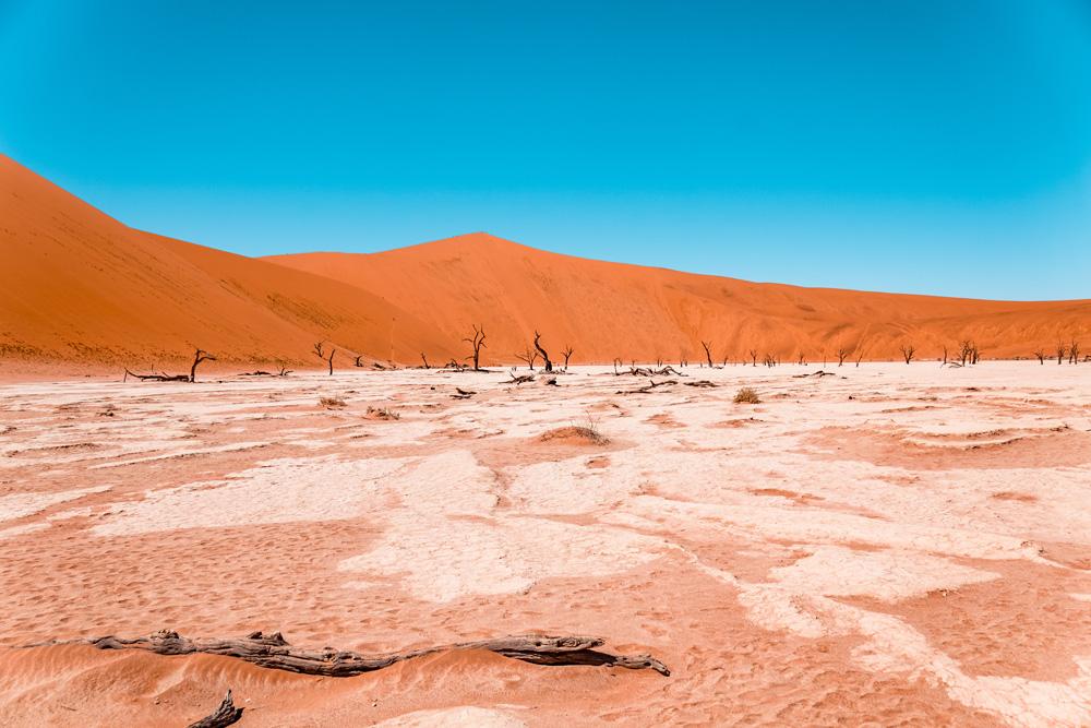 Namibie bezienswaardigheden Sossusvlei 4 - Reisroute: langs de bezienswaardigheden van Namibië