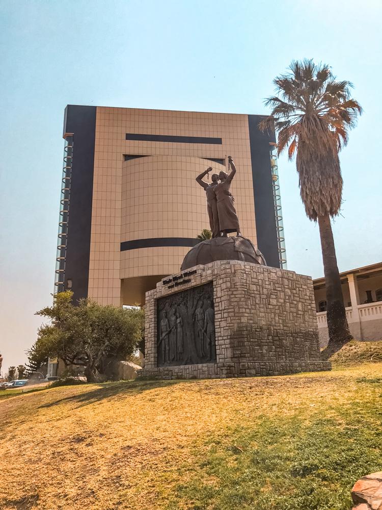 Namibie bezienswaardigheden Windhoek 2 - Reisroute: langs de bezienswaardigheden van Namibië