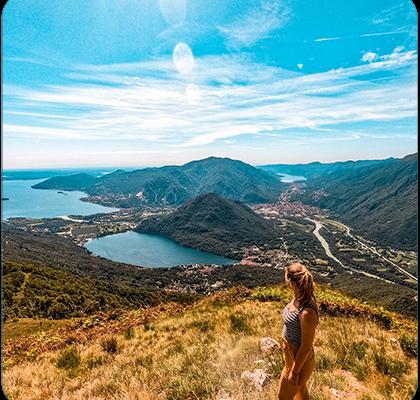 Hiken Ortameer Lago Maggiore bergen